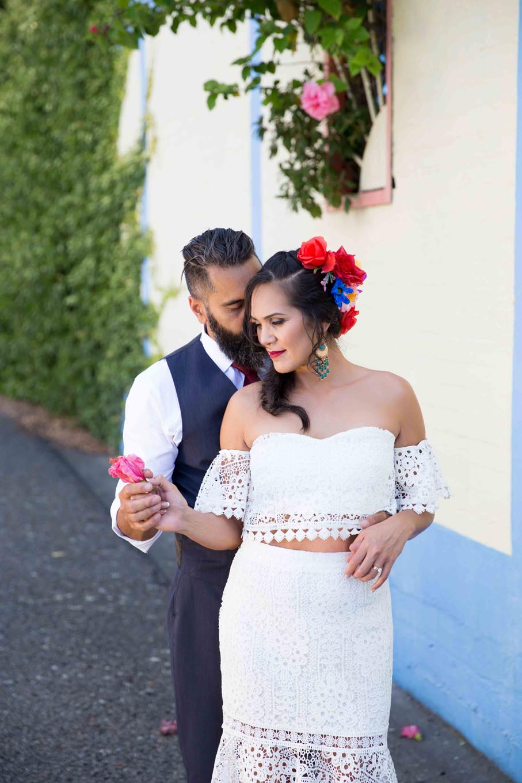 Wedding Photoshoot at Hawkes Bay, New Zealand